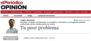 peor problema