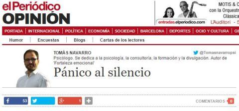 103. panico al silencio